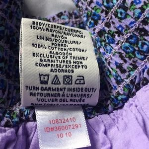PINK Victoria's Secret Skirts - 💥 3/$25 VS Pink Purple Floral Skirt Sz M   D18